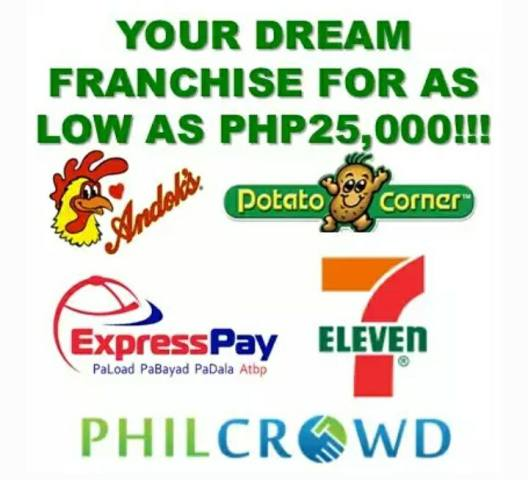 Business Franchise opportunities in PhilCrowd