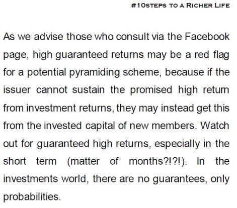 10Steps Quote - Pyramiding